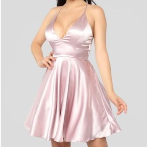 Fashion Nova Silky Dress